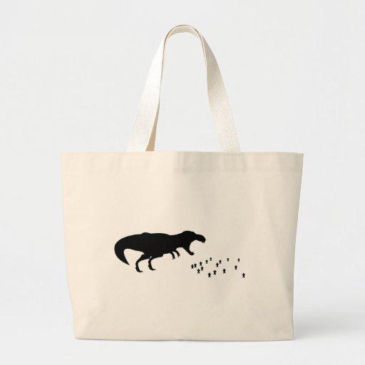 Rawr! T-Rex Canvas Bags