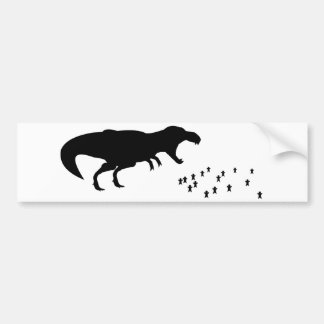 Rawr! T-Rex Bumper Sticker