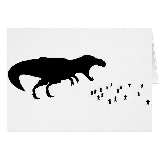 Rawr! T-Rex Greeting Card