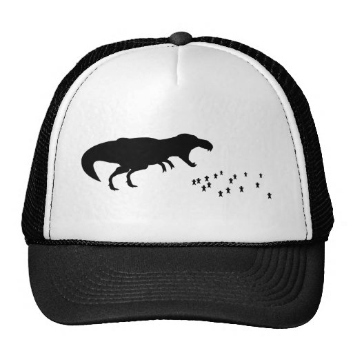 Rawr! T-Rex Mesh Hats