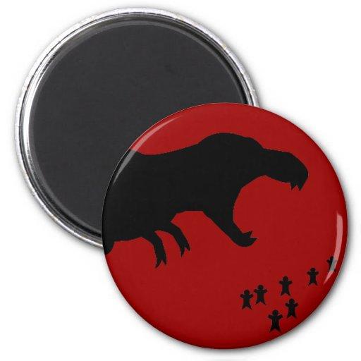 Rawr! T-Rex Fridge Magnets