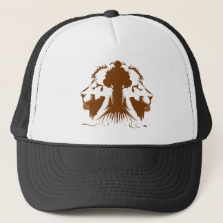 Rawr, Tiger Tree Trucker Hat