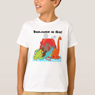 RAWRRR Dinosaur Birthday Custom T-shirts