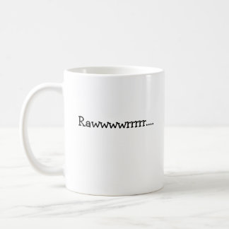Rawwwwrrrrr...., Means I love you in dinosaur. Coffee Mug