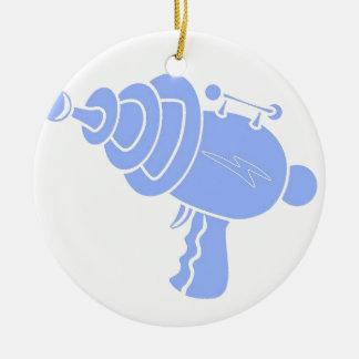 Ray Gun Ceramic Ornament