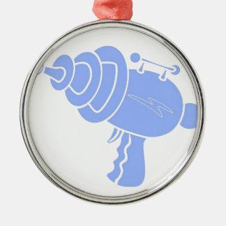 Ray Gun Metal Ornament