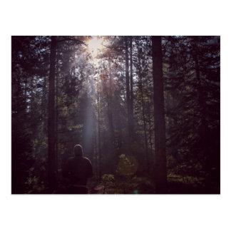 Ray of light postcard