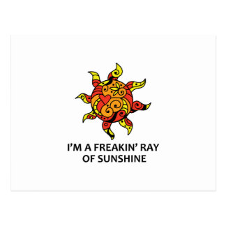 Ray Of Sunshine Postcard