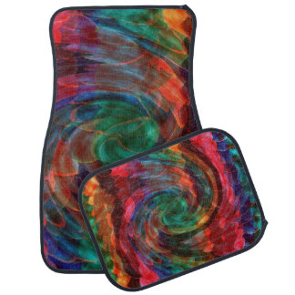 Ray of Twirls Car Mat