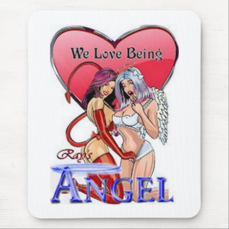 ray s angels mouse pads