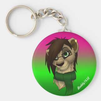 Raylene the Lioness Key Ring
