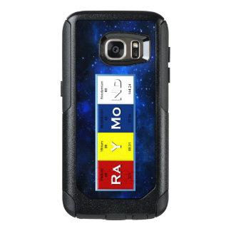 Raymond Elements w/ Border Samsung Galaxy S7 Case