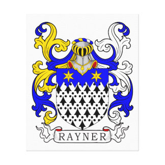 Rayner Coat of Arms Canvas Prints