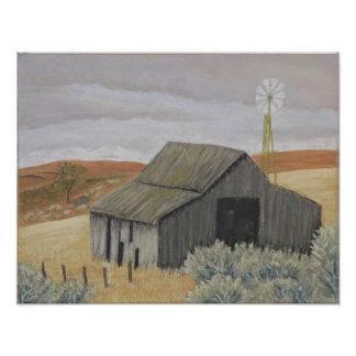 Ray's Barn Print Art Photo