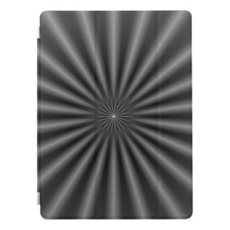 Rays in Black and White iPad Pro Cover