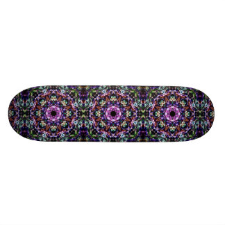 Rays of Light Abstract 18.1 Cm Old School Skateboard Deck