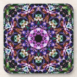 Rays of Light Abstract Beverage Coasters
