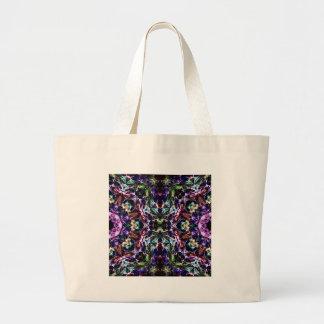 Rays of Light Abstract Jumbo Tote Bag