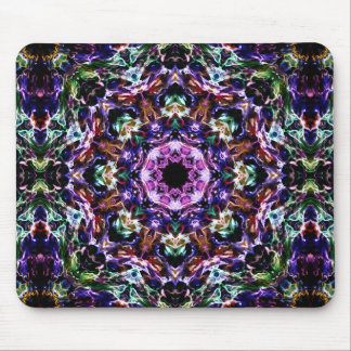 Rays of Light Abstract Mouse Pad