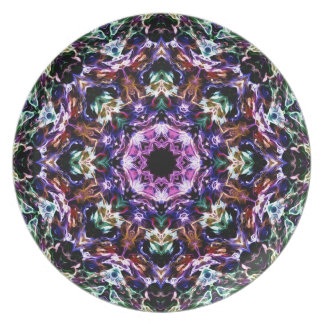 Rays of Light Abstract Party Plates