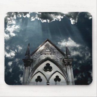 Rays of light mouse pad