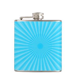 Rays Of Light Pattern Flasks