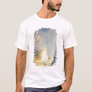 Rays Of Light Shining Through The Clouds T-Shirt