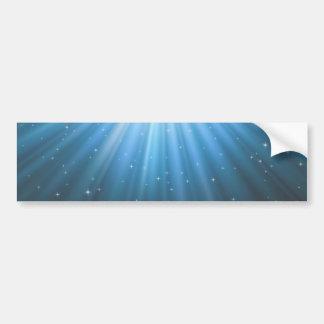 Rays Sun beam inspirational Bumper Sticker