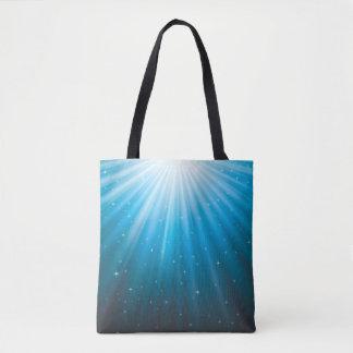 Rays Sun beam inspirational Tote Bag