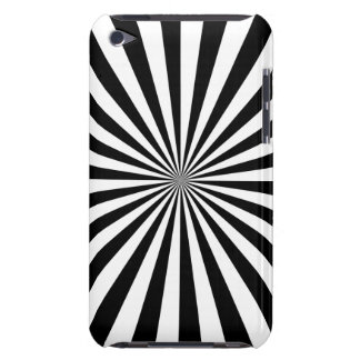 RAYS transparent (a black & white design) ~ iPod Case-Mate Case