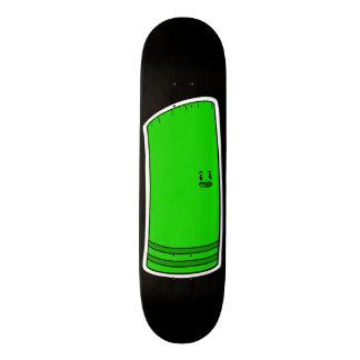 Rayshine GHOST TOON™ Slim Green Black Skateboard