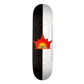 Rayshine Skate™ Brand Half Black & White Deck Custom Skate Board