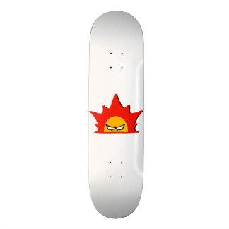 "Rayshine Skate™ Brand ""Mr. Sun"" White Deck Skateboard Decks"