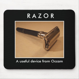 Razor: a useful device from Occam Mouse Pad