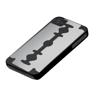 Razor Blade BlackBerry Bold Case-Mate Barely There iPhone 4 Cases