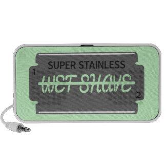 Razor Blade Wet Shave Customizable Mini Speaker
