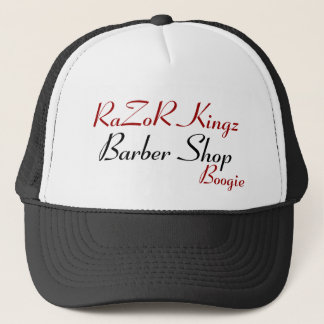 RaZoR Kingz Barber Shop Promotional Trucker Hat