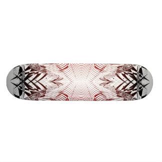 Razor Web: Abstract Artwork: Custom Skateboard