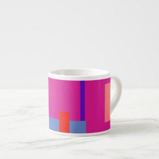 Razzle dazzle Rose 6 Oz Ceramic Espresso Cup