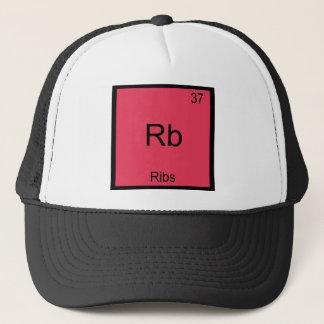 Rb - Ribs Chemistry Element Symbol Funny Trucker Hat