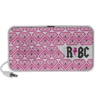RBC diamonds Travelling Speakers
