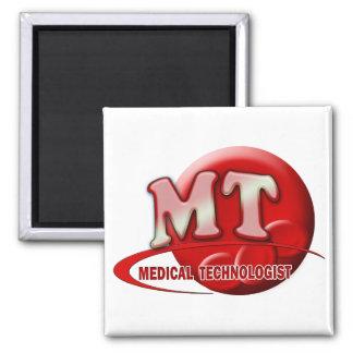 RBC MT LABORATORY SWOOSH LOGO - MEDICAL TECH MAGNET