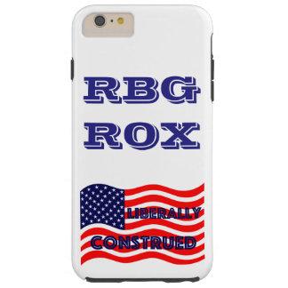 RBG ROX Ginsburg Liberal Democrat Democratic Party Tough iPhone 6 Plus Case