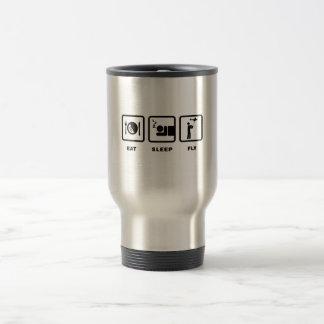 RC Airplane Stainless Steel Travel Mug