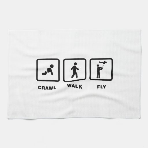 RC Airplane Hand Towel