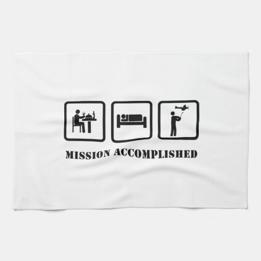 RC Airplane Kitchen Towel