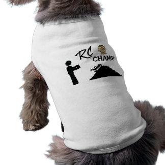 RC First Place Champ Sleeveless Dog Shirt
