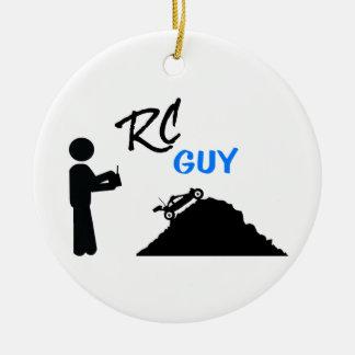 RC Guy Ceramic Ornament