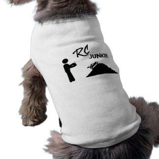 RC Junkie Sleeveless Dog Shirt