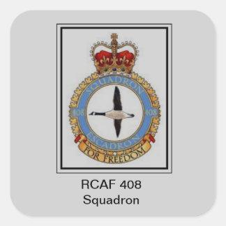 rcaf 408 square sticker